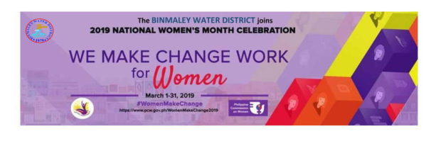 2019 National Women's Month Celebration