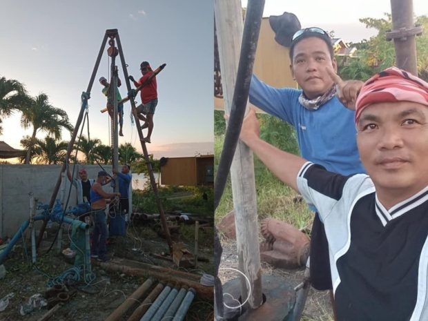 Linoc Pull-out and Installation of submersible pump and motor